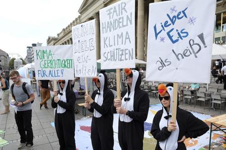 Klimaaktionstag Stuttgart