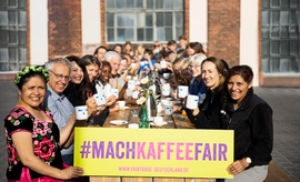 Faire Woche 2019, Coffee Fairday, Foto: TransFair/Jakub Kaliszewski